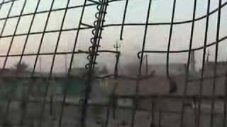 F-18 Air Strike near Fallujah part 1 - Guns
