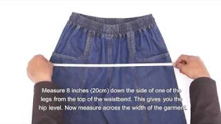 How to Take Garment Measurements of Women