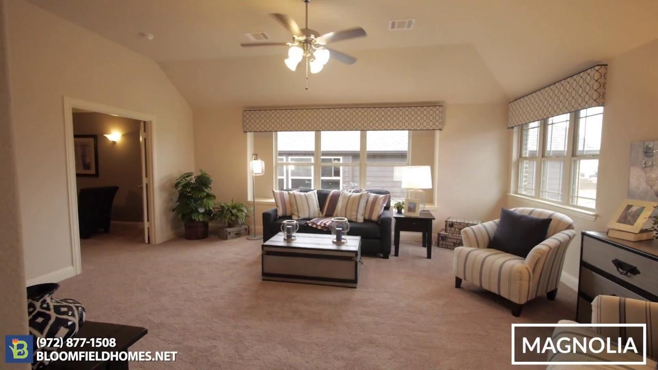 Magnolia Floor Plan New Homes in DFW – Bloomfield Homes Floor Plans