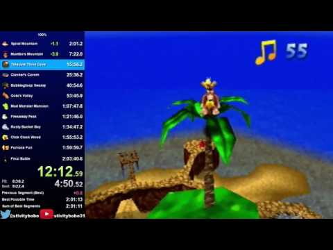 Banjo-Kazooie 100% in 2:03:35