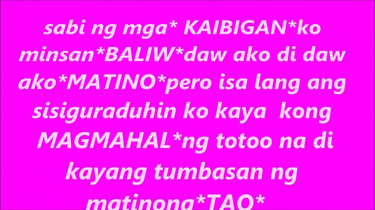 Tagalog Quotes About Love And Friendship Adorable Tagalog Love Quotes Byirene Torejas S  Youtube