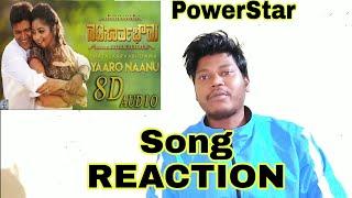 Yaaro Naanu Song with Lyrics Reaction   Natasaarvabhowma   Puneeth Rajkumar