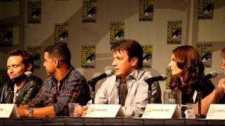Castle Panel, Comic-Con 2010: Pranks on set