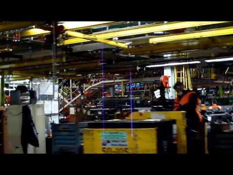 GM Arlington, TX Assembly Plant Tour Feb. 2011