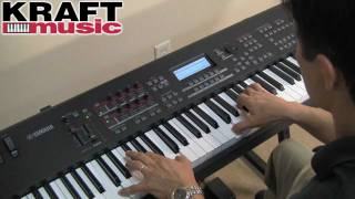 Kraft Music - Yamaha MOX8/MOX6 Demo with Tony Escueta