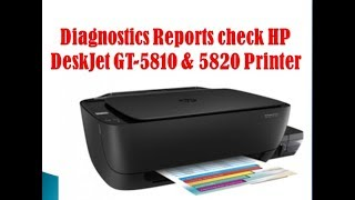 how to Download HP DeskJet GT 5810 All-in-One Printer series