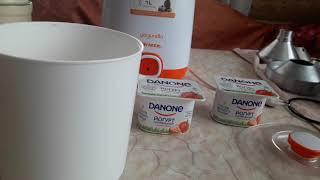Делаем домашний йогурт в йогуртнице