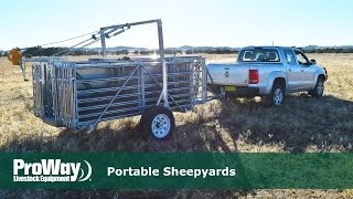 ProWay Portable Sheepyards