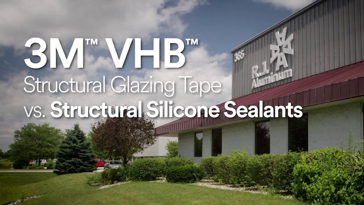 3m Glazing Tape : M™ vhb™ structural glazing tape at rj aluminum with