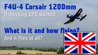 What is it and how flying F4U-4 Corsair Warbird Ho