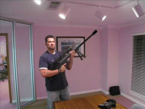 Marcus Luttrell with Barrett Mod 99 .416 - YouTube