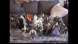 Action figure overview: Toybiz Lord of the Rings figures