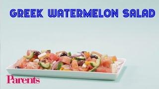 Refreshing Greek Watermelon Salad Recipe   Parents