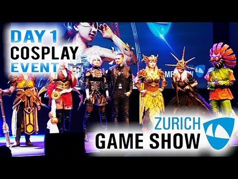 Zürich Games Show 2018 Cosplay Event Day 1