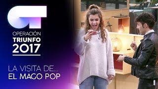 Visita de El Mago Pop | OT 2017