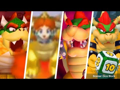 Evolution of Bowser in Mario Party Games (1998 - 2018)