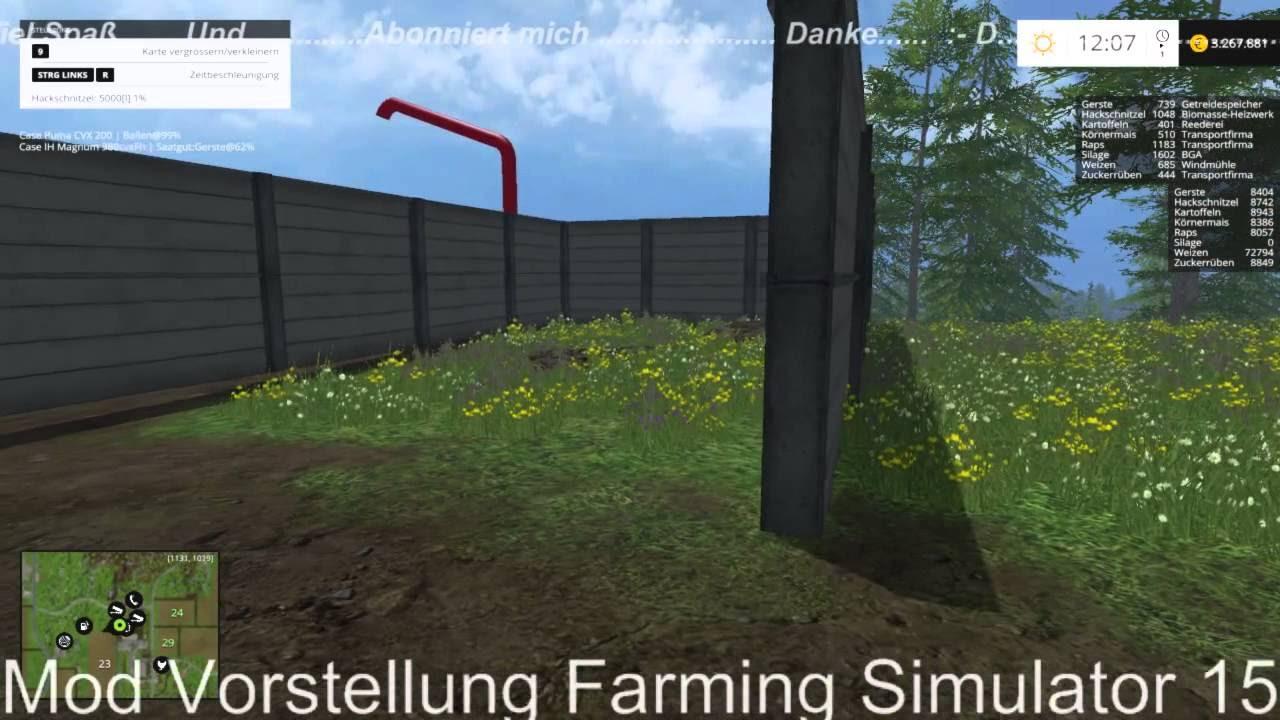 Mod Vorstellung Farming Simulator 15: Hackschnitzellager V 1.2