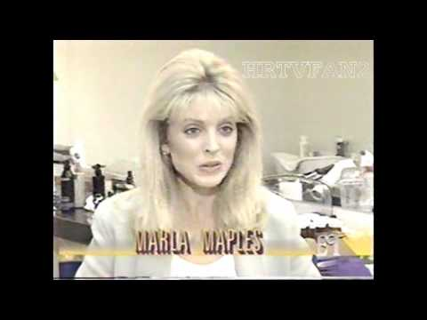 September 27, 1991 Entertainment Tonight Story (Marla Maples on Designing Women)