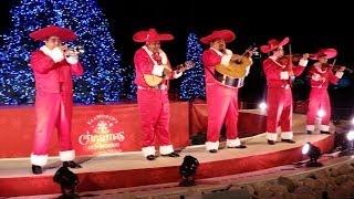 Colorful Christmas Mariachi band at Seaworld San Antonio