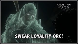 Shadow of War New Talion VOICE lines when Dominating