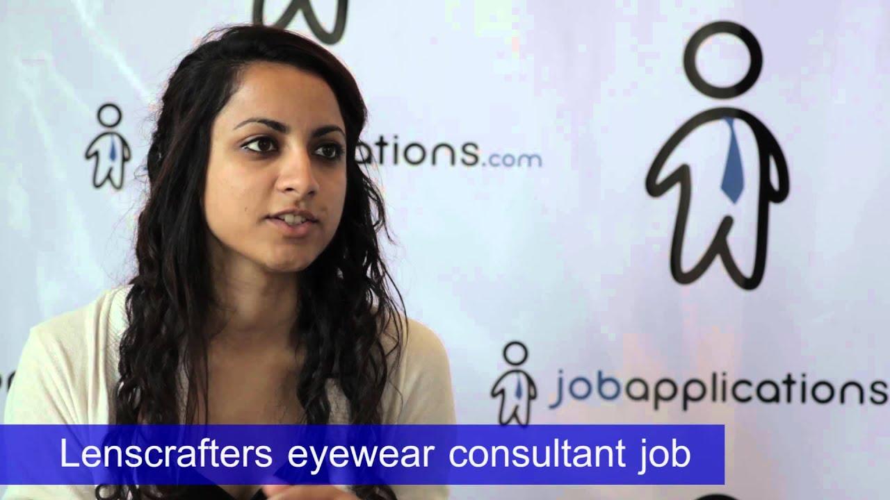 45f2520342f LensCrafters Interview - Eyewear Consultant. Job Applications.com