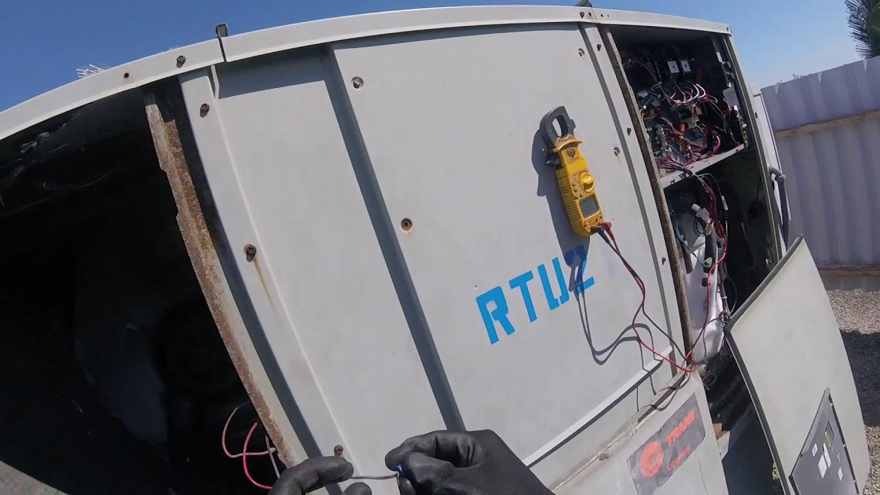 trane unit with bad RTRM board