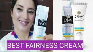 Olay Natural White Instant Glowing Fairness Cream Review | Rachna Reviews