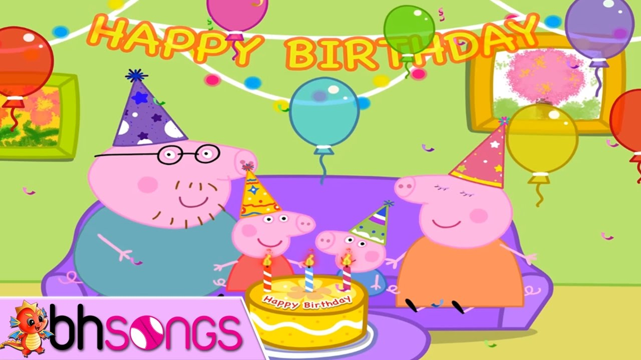 Tubget Download Video Happy Birthday Songs For Kids Funny 4k