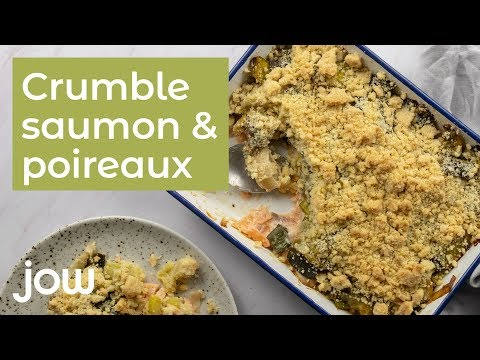 recette-de-crumble-saumon-poireaux