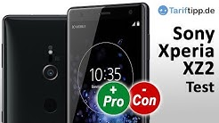 Sony Xperia XZ2 | Test (deutsch)