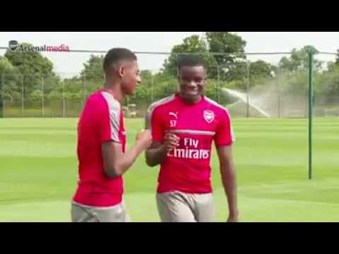 Entrenamiento del Arsenal Fc