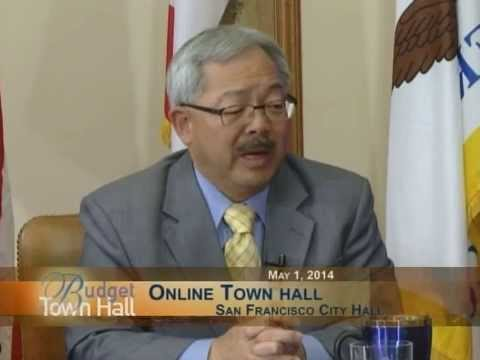 Mayor Lee & Supervisor Mark Farrell Host Online #SFBudget Town Hall 2014