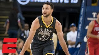 Steph Curry scores 37 points, hits 7 3-pointers in Warriors win vs. Pelicans | NBA Highlights