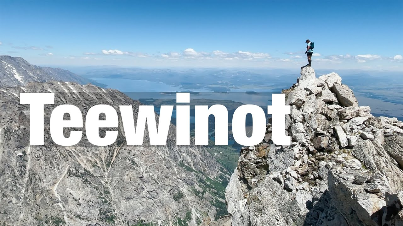 Teewinot Mountain // The Best View in the Tetons