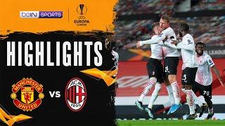 Manchester United 1-1 AC Milan   Europa League 20/21 Match Highlights