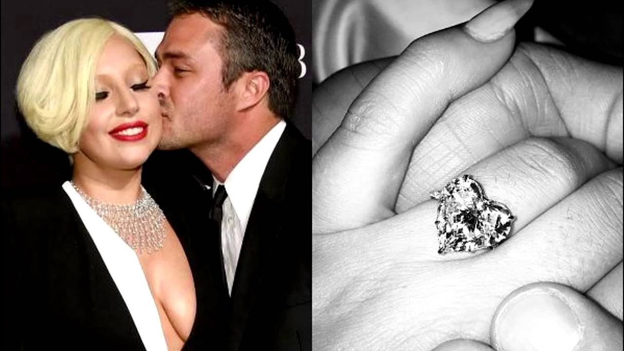 Taylor Kinney and lady gaga ring