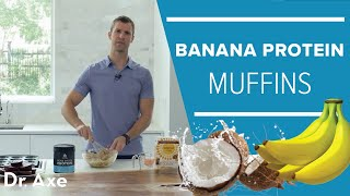 Banana Protein Muffins with Simple Mills