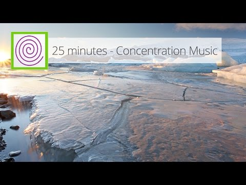 25 minutes of concentration music. 25 minutos de música de concentración.