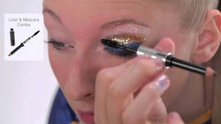 BA STAR 3 Color Glitter Eye- Navy, Gold & Super Sparkle Thumbnail