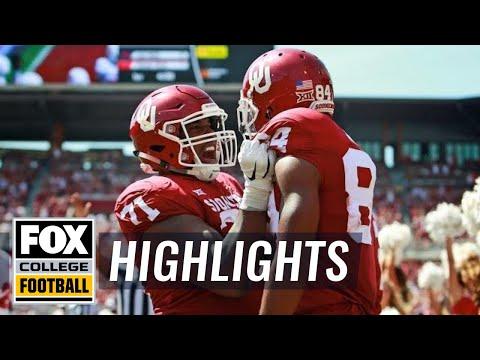 Oklahoma vs FAU | FOX COLLEGE FOOTBALL HIGHLIGHTS