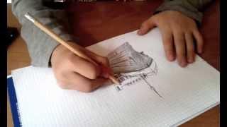 """Talent: Zehnjähriger zeichnet die """"Titanic"""""""
