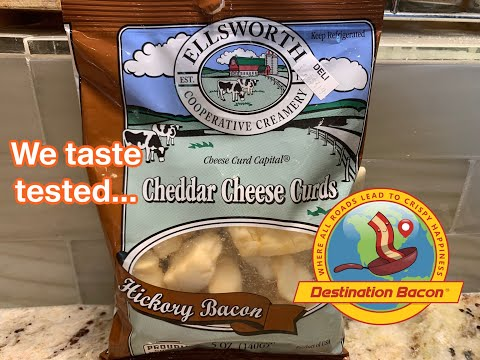 We taste tested Hickory Bacon Cheddar Cheese Curds!