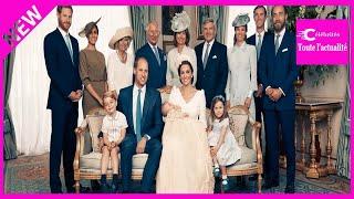 Baptême du prince Louis: les clichés officiels de la famille dévoilés et une absence remar