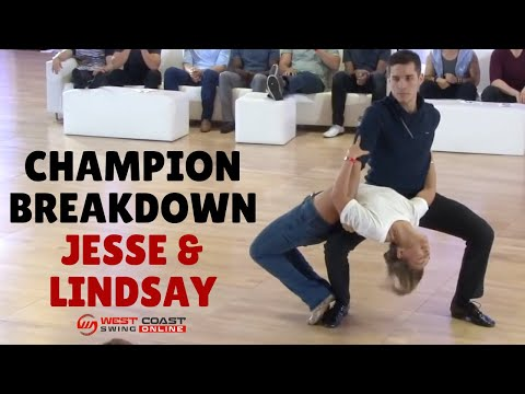 Dance Choreography | Champion Breakdown Jesse & Lindsay | West Coast Swing Dance Championship