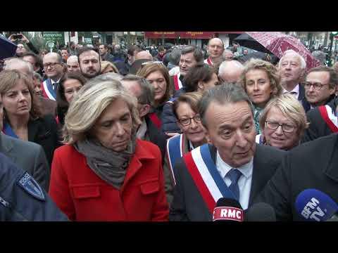 Prière de rue illégale. Clichy-la-Garenne/France - 10 Novembre 2017