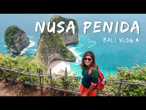 NUSA PENIDA Day Trip - Most Beautiful Island In Bali! 🌊 | Bali Travel Vlog #4