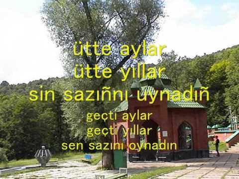 Tatar Song Ireksez Yaslegem by Ilham Shakirov with Turkish captions  Илһам Шакиров