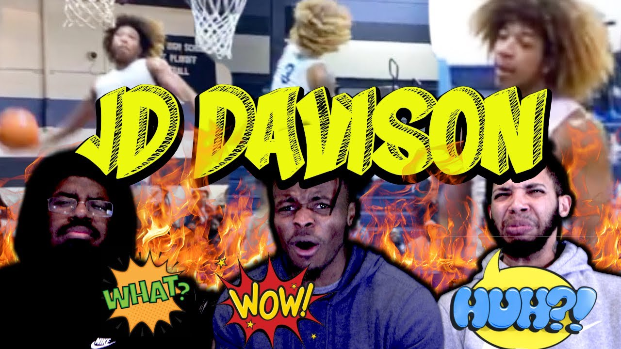 THE MOST ELECTRIFYING HIGHSCHOOL PLAYER IN THE NATION: JD DAVIDSON!!!!   HouseReacts