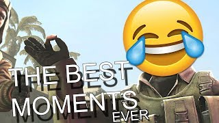 THE BEST CS:GO FUNNY MOMENTS OF ALL TIME...