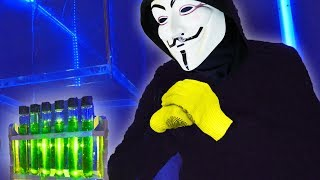 PROJECT ZORGO VIRUS to Take Control of YouTube Hidden Inside Our Underground Tunnel Vault